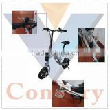 Condery Ultralight Portable Mini Folding Electric Bike with Lithium Battery                                                                         Quality Choice