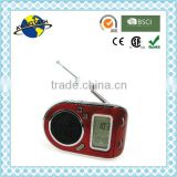 Fashionable Small FM AM SW Multiband World Receiver Radio