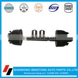 Truck Trailer Parts 13 ton FUWA Axle With Brake System