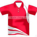 sublimated bowling polo shirts