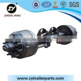 American Type Low Bed Axle For Agricultural Trailer/Quality guaranteed American type axle for hot sale