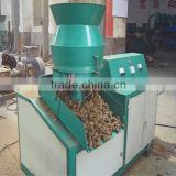 Professional flat die biomass fuel briquette machine
