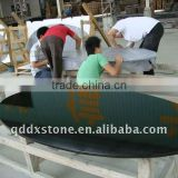 Chinese pure black granite round office countertops