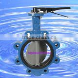 lug type flange butterfly valve
