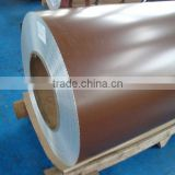 Manufacturer Exporting to Russia prepainted galvanized steel coil/PPGI steel coils with ral 8017