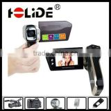 2012 new cheap giftl hd video digital camcorder,max 12Mega pixels,with 2.4inch LCD/Support 32GB sd card(DV8000A)