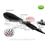 Ionic electric hair brush massager comb straightening hair brush-HSB002QU