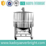 High quality stainless steel mixing jacketed tank for food                                                                         Quality Choice