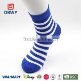 Strip Pattern Fresh Young Boy and Young Girl Sport socks