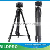 Heavy Duty Video Camera Tripod Stand Aluminum Tripod Camera Stand 1650mm