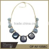 Latest odel Design Women Fashion Beaded Necklace