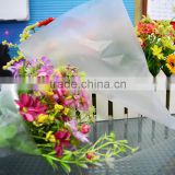 factory manufacturering custom material flower sleeve packing plastic bag with good sealing