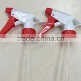Red and white Plastic trigger sprayer/water trigger sprayer                                                                         Quality Choice