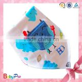 2015 High Quality Wholesale Cute Bird Baby Bandana Baby Knitted Scarf