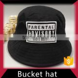 Customized logo bucket hat