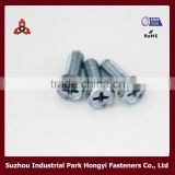 Galvanized Carbon Steel 8.8 Grade Bolt Type Of Cross Recessed Hex Head Made In China Mainland Manufacture