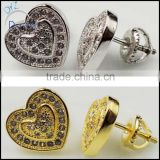 fashion jewelry wholesale hip hop bling earring jewelry