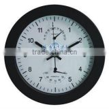 10 inches wall clock, plastic clock with weather station