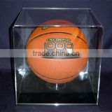 clear custom acrylic basketball display box