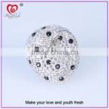 experienced jewelry factory maxfresh supply new diamond ring lucky ring special lucky stone ring