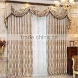 Japanese style Jacquard chenille fabric for hotel window curtain track