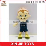 12inch knitted doll custom cute knitted fabric doll funny boy doll for kids