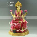 China factory wholesale resinic hindu god laxmi statues                                                                         Quality Choice