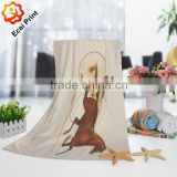 custom made sublimation colourful good water absorption bath towel                                                                         Quality Choice