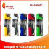 HL-09205S Plastic torch refillable normal led electronic lighter