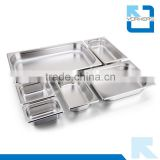 multi size stainless steel gastronorm food container/pan