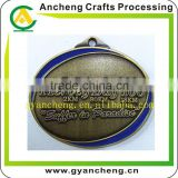 Zinc Alloy Material Metal Medal,Trophy,Award Stoving Varnish Antique Bronze Plating Metal Medal,Trophy,Award