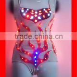 Remote control sexy ballroom LED dance costume