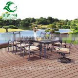 2016 New Coming Outdoor Cast Aluminum Furniture With Table and Chair                                                                         Quality Choice