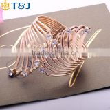 >>>>Wide open gold cuff bracelet jewelry Hollow bracelets&bangle for women brand united nations costumes/