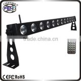 12x10w dual bracket stand wall mount led lights for background decorate