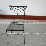 BX wrought iron bistro set furniture