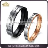 KSTONE Free Shipping and Free Engrave Customize Size 4-15 Tungsten Woman Man's wedding Rings Couple Rings