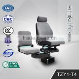Foldable Fashion Air Suspension Driver Seats in Gray Cloth TZY1-T4