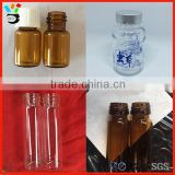 High Borosilicate Glass Material Product Container Custom Size Screw Healthcare Glass Bottle