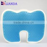 hot sale in alibaba gel memory foam coccyx seat cushion with removeable and washable cover