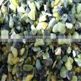 China factory wholesale price green jade gravel and crushed stone for garden landscaping
