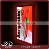 Back bar Single side led backlit light box indoor