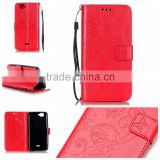 For Wiko RAIN BOWUP BOW UP Painted Pattern Horizontal Flip Leather Case with Card Slots Holder