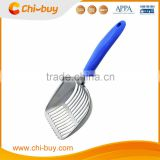 Chi-buy 2016 New Metal Cat Litter Scoop Polished Cat Litter Scoop Teflon Coated Cat Litter Scoop
