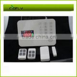 GSM alarm system with MMS images ,GSM alarm system wireless with Temperature and gas smoke detector remote control