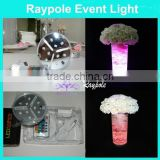 Decoration supply type 10CM Round Colorful remote controlled battery powered wedding favors