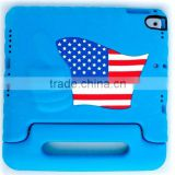 USA Flag Case for Apple IPAD Pro 9.7 Inch, Tablet Shockproof EVA Case Cover For iPad Pro 9.7 For Children