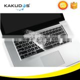 Factory supply custom keyboard skin cover for mac keyboard cover water proof dust proof
