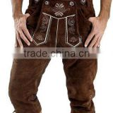 German bavarian lederhosen leather shorts / Style-PW01986