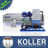 Koller industrial 5 tons salt water ice block making machine with r22 gas for fishing farms
